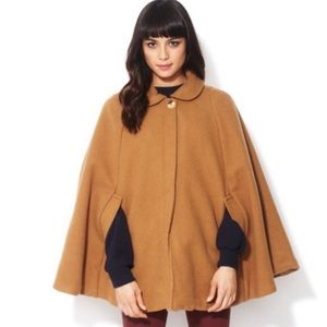 American Apparel The Wool Cape - Camel / One Size